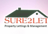 Marketed by Sure 2 Let Property Lettings & Management