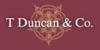 T Duncan & Co logo