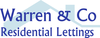 Warren & Co Lettings