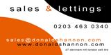 Donald Shannon Estate Agents Logo