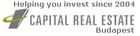 Capital Real Estate Budapest logo