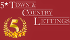 5 Star Town & Country Lettings Logo