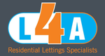 L 4 A Residential Lettings Specialist Logo