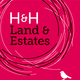 H&H Land & Estates Logo
