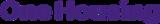 One Housing - Blackhorse Lane Logo