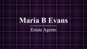 Maria B Evans Estate Agents, PR26