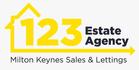 123 Estate Agency logo
