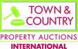 Town & Country Property Auctions International logo