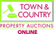 Town & Country Property Auctions Online logo