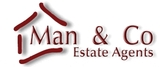 Man and Co Estate Agents Logo