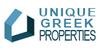 UNIQUE GREEK PROPERTIES logo