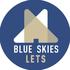 Blue Skies Lets logo
