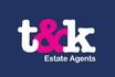 T&K Estate Agents logo