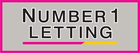 Logo of Number 1 Letting