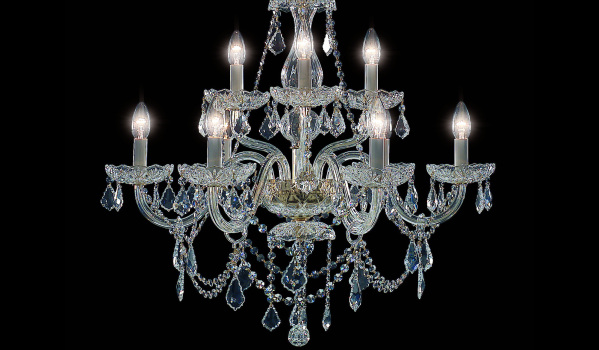 Celebrity big brothers kitchen chandelier get the look primelocation budget version bhs has a bargain five light chandelier the bryony currently reduced to 75 from 150 aloadofball Choice Image
