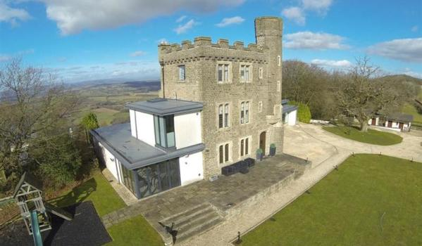 Grand designs hilltop castle in newport up for sale zoopla for Hilltop house designs