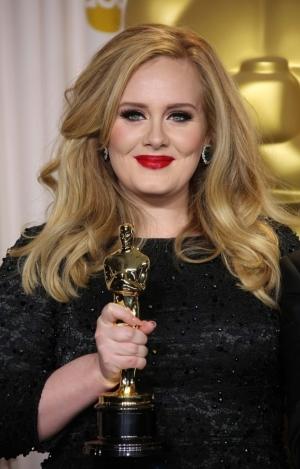The singer Adele.
