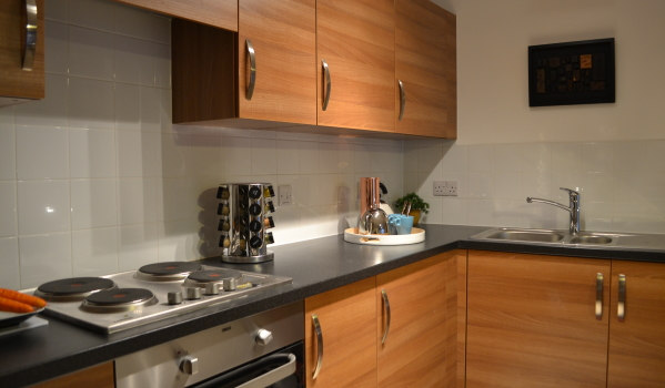 Radian Homes kitchen in Centenary Quay, Woolston, Southampton