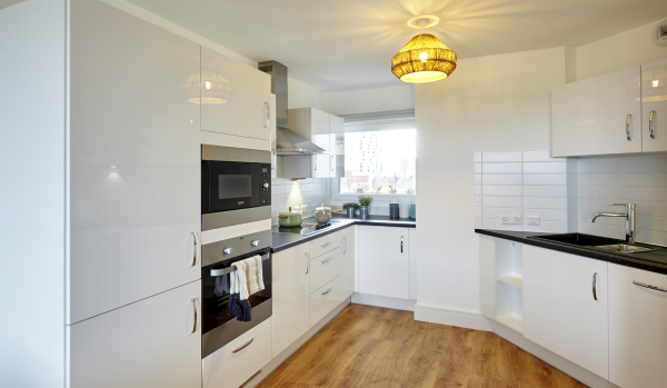 Kitchen at one of the flats to rent in Barking.