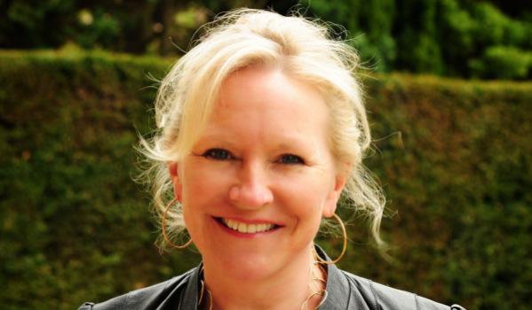 Interior designer Sarah Ward.