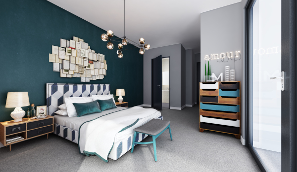 The Joinery, Islington and Archway bedroom lounge