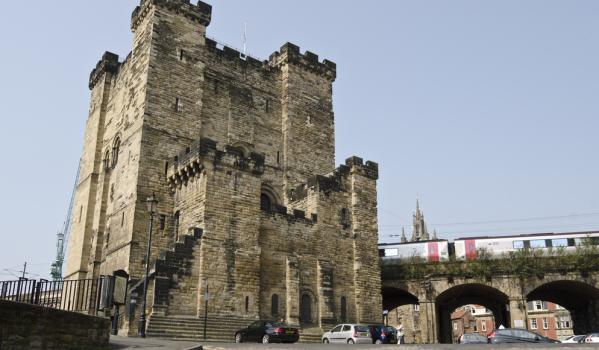 Castle Keep in Newcastle.