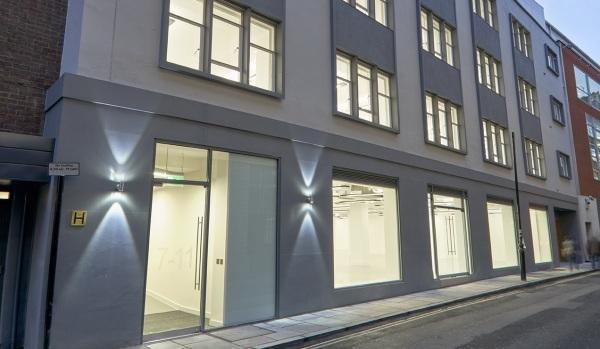 Offices in Lexington Street, London.