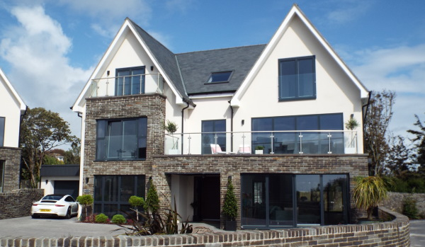 House in Langland, Swansea.