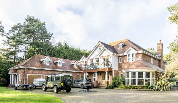 Spacious home in Branksome Park.