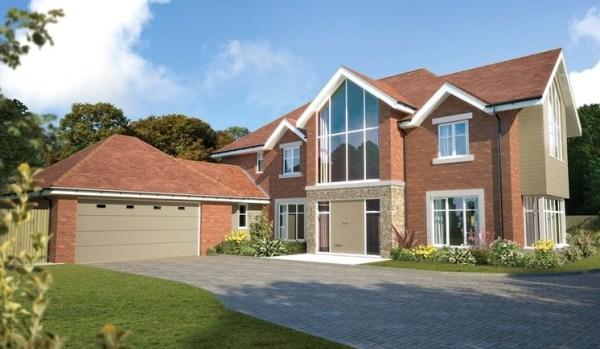 New housing development in Dorset.