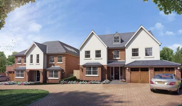 New housing development in Romford.
