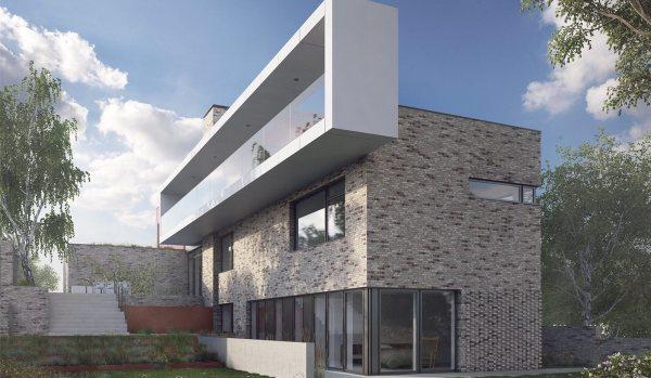 Modern design on Withdean Road.