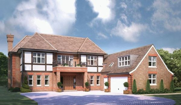 New-build home in Tadworth.