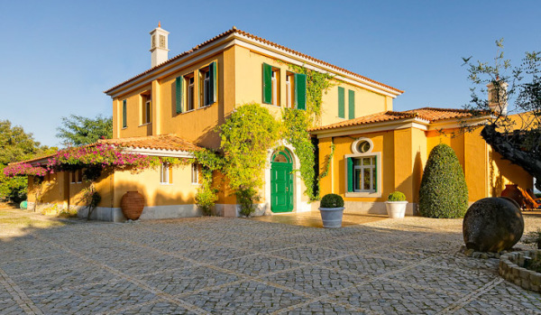 Traditional property in the Algarve.