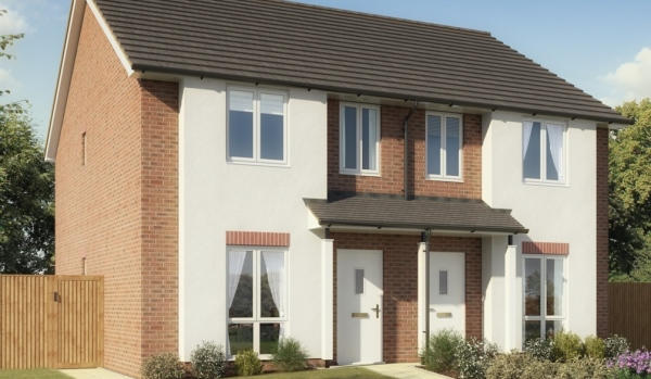 New-build home in Farnborough.