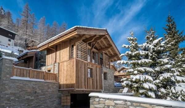 Chalet in Val D'Isere.