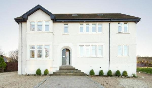 A spacious modern home in Glasgow.