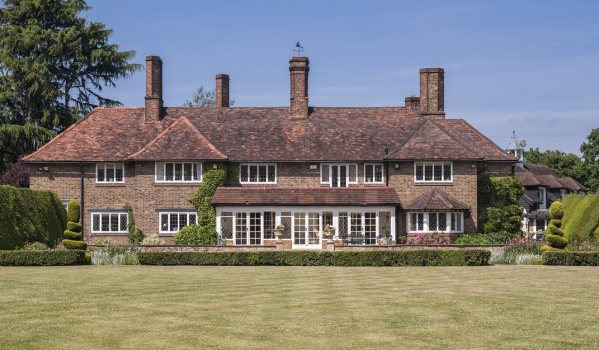 James Bond star's former home in Denham.