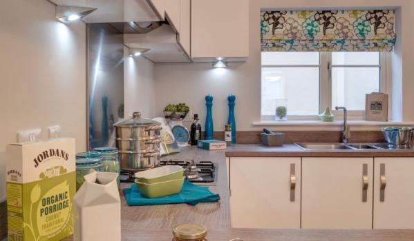 A kitchen.