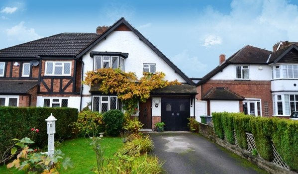 Home in Solihull.