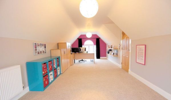 Play room in loft conversion