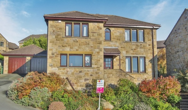 House for sale in Huddersfield.