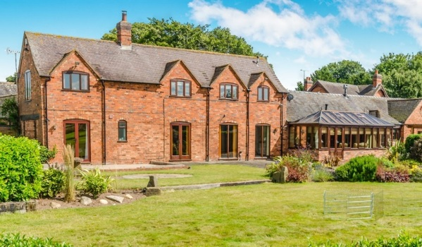House for sale in Pipe Ridware near Rugeley.