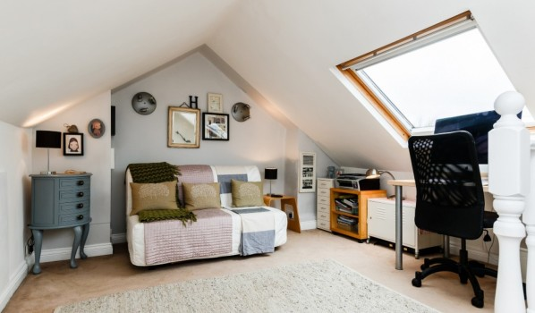 Loft conversion in Bristol.