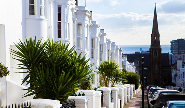 East Sussex terrace houses