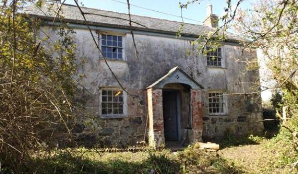 Grade II listed Cornish cottage in need of repairs