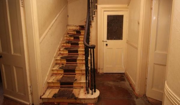 Staircase in need of refurbishment