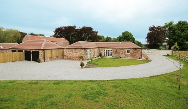 Newly converted barn in Selby