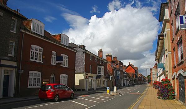 Street in Salisbury