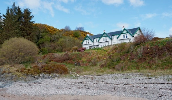 Large Edwardian house with its own private beach